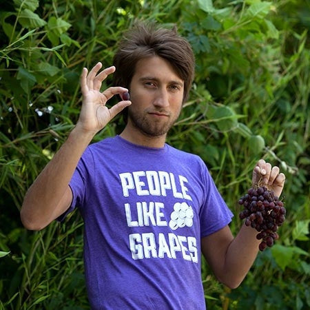 People Like Grapes Shirt