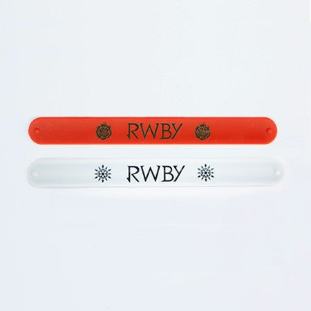 RWBY Slap Bands - Set of Two (Red and White)