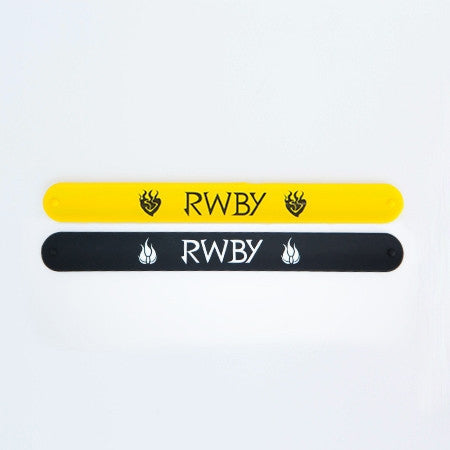 RWBY Slap Bands - Set of Two (Black and Yellow)