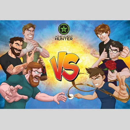 "Achievement Hunter VS Poster (36"" x 24"")"