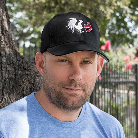 Rooster Teeth Logo Baseball Hat