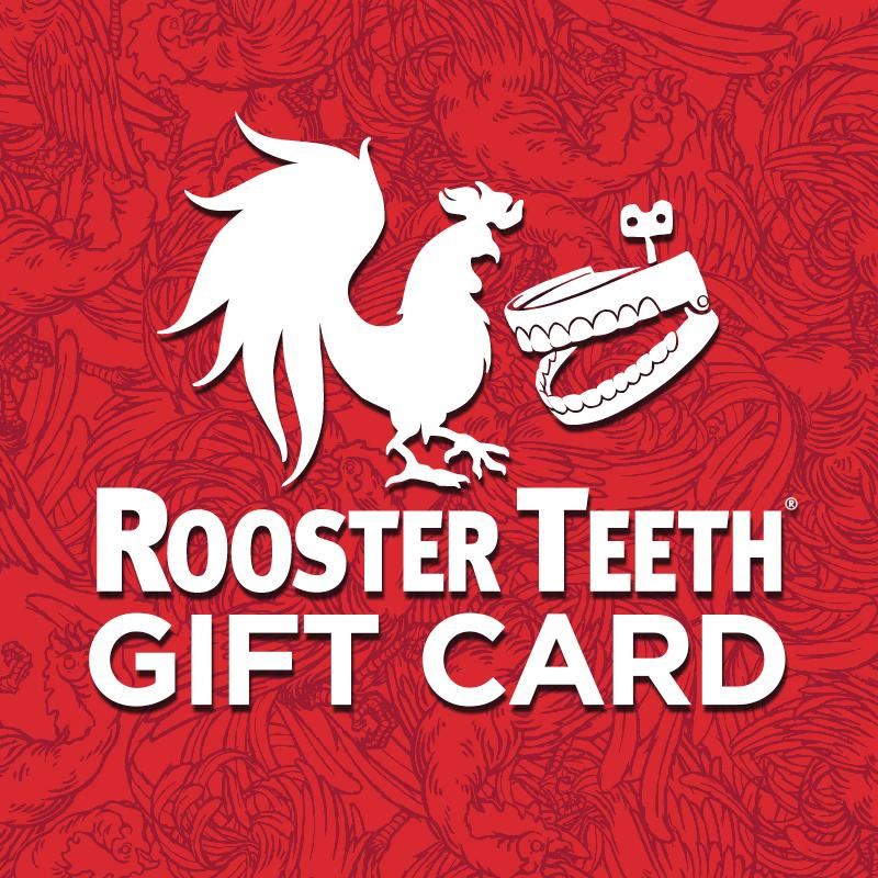 Rooster Teeth UK Store Gift Card