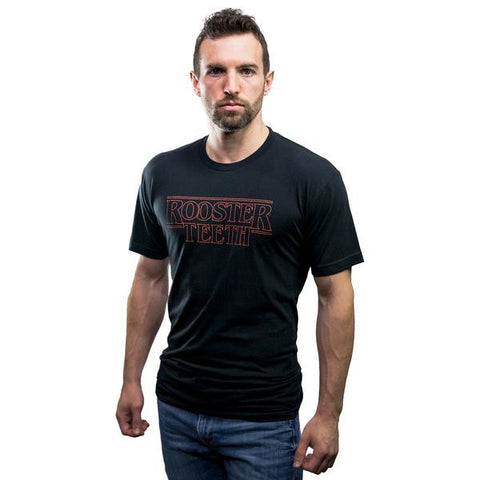 Rooster Teeth Weirder Things Men's Shirt