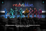 "RvB Heroes Poster (36"" x 24"")"