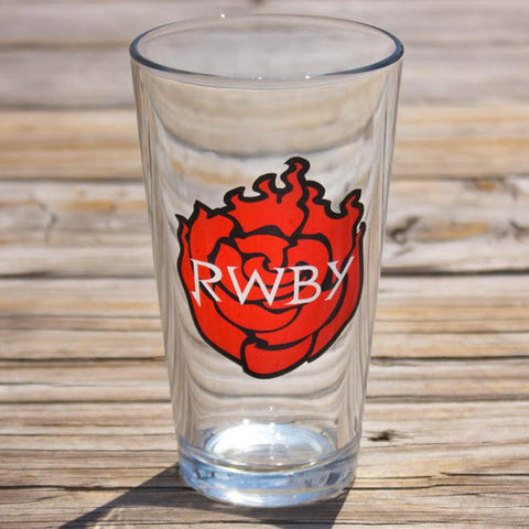 RWBY Logo Pint Glass