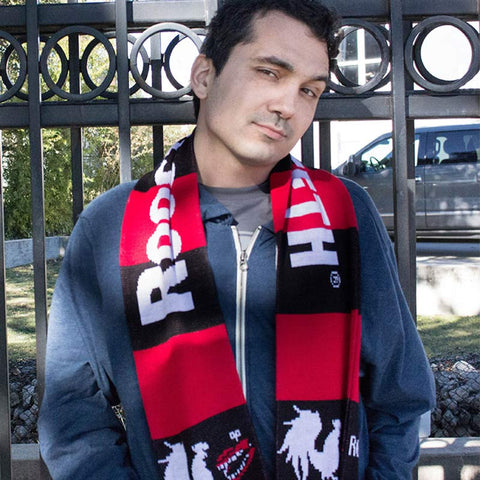 Rooster Teeth Soccer Scarf