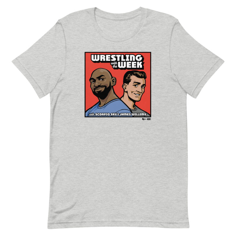 Wrestling With The Week Logo T-Shirt