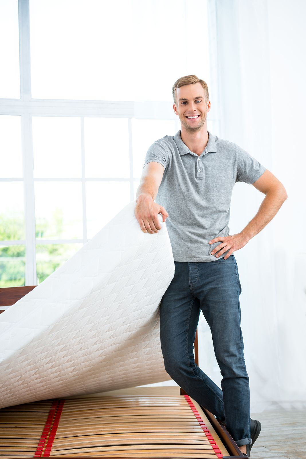 Setting Memory Foam or Latex Mattresses to a Height that Suits You