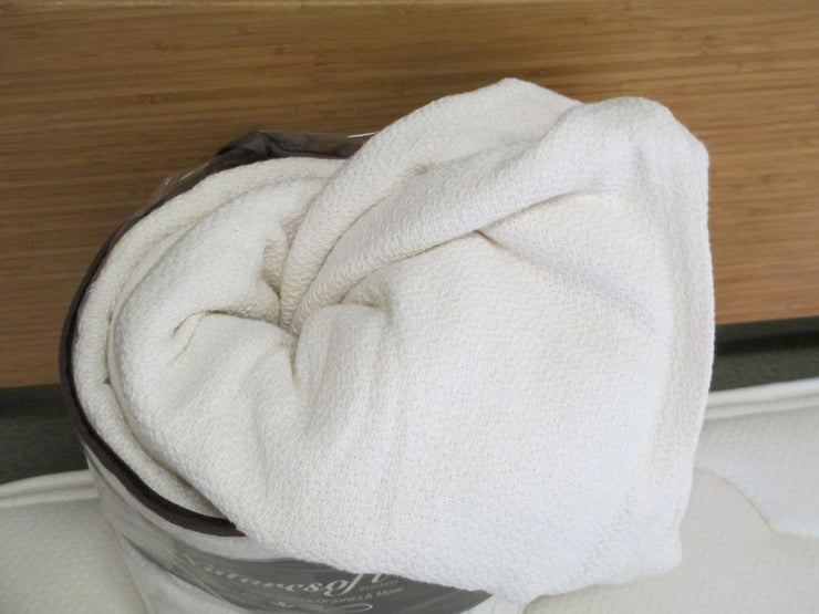 "American Organics U.S. Made Certified Organic Cotton ""Crepe"" Blanket"