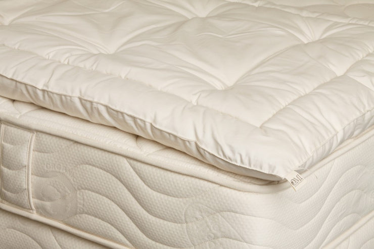 50% Off Twin XL OrganicPedic Wooly Lite 1.5″ Certified Organic Wool Topper