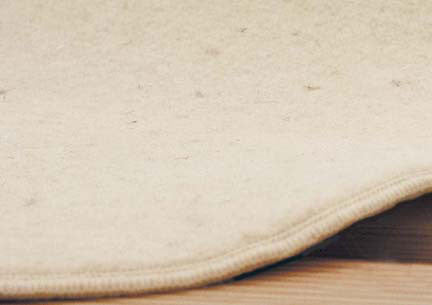 50% Off OrganicPedic GOTS-Certified Wool Underbed Pad