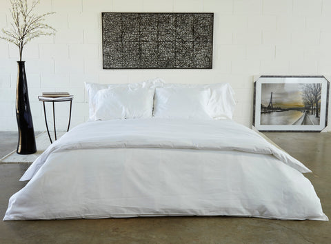 Healthy Bed Collection Pleated Organic Cotton Sheets