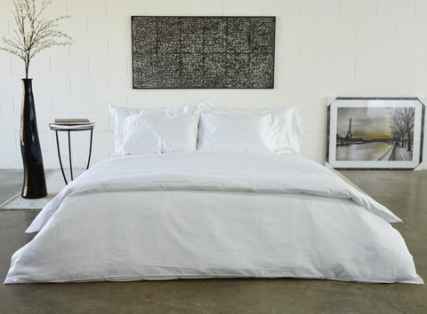 Healthy Bed Collection Hemmed Organic Cotton Sheets