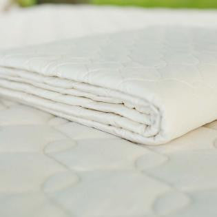 Savvy Rest Natural Cotton Mattress Pad