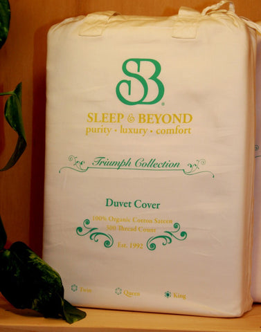 Sleep and Beyond Certified Organic Duvet Cover