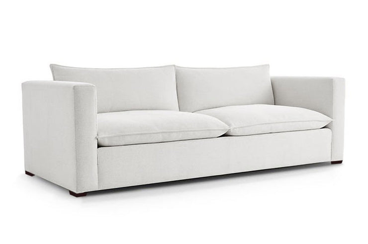 Certified Organic Two-Arm Loveseat