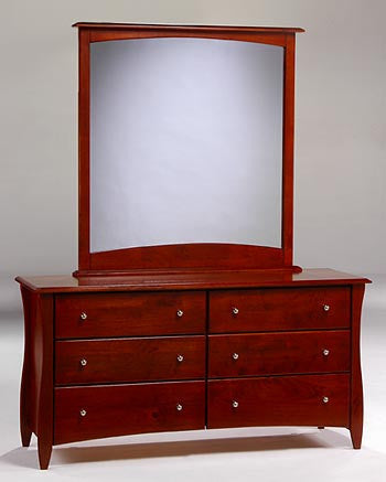 Night & Day Clove 6-Drawer Dresser