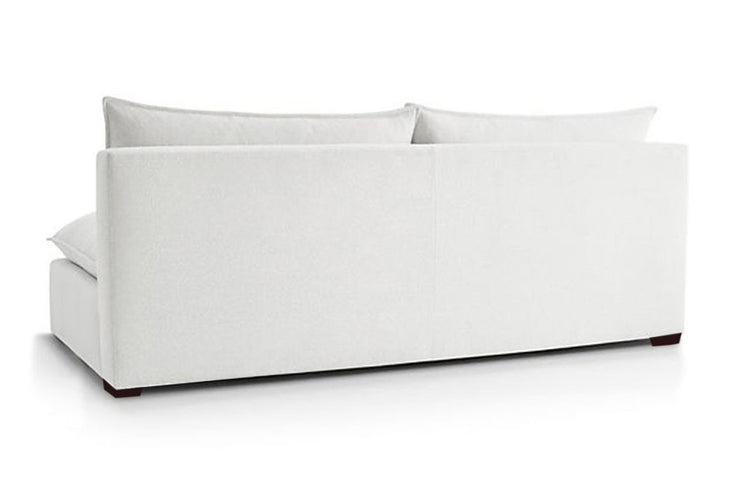 Certified Organic Armless Loveseat