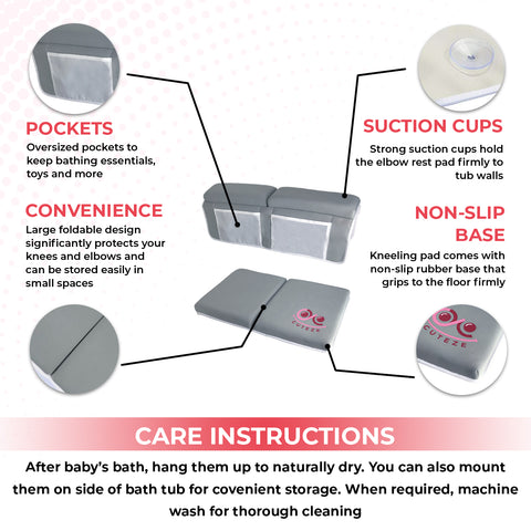 care instructions for bath kneeler