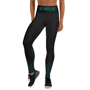 petrol wave performance High Waist Leggings