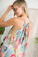 Load image into Gallery viewer, Spring Print Halter Top