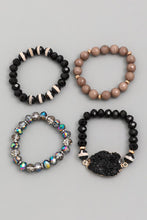 Load image into Gallery viewer, Stack Bracelet set of 4