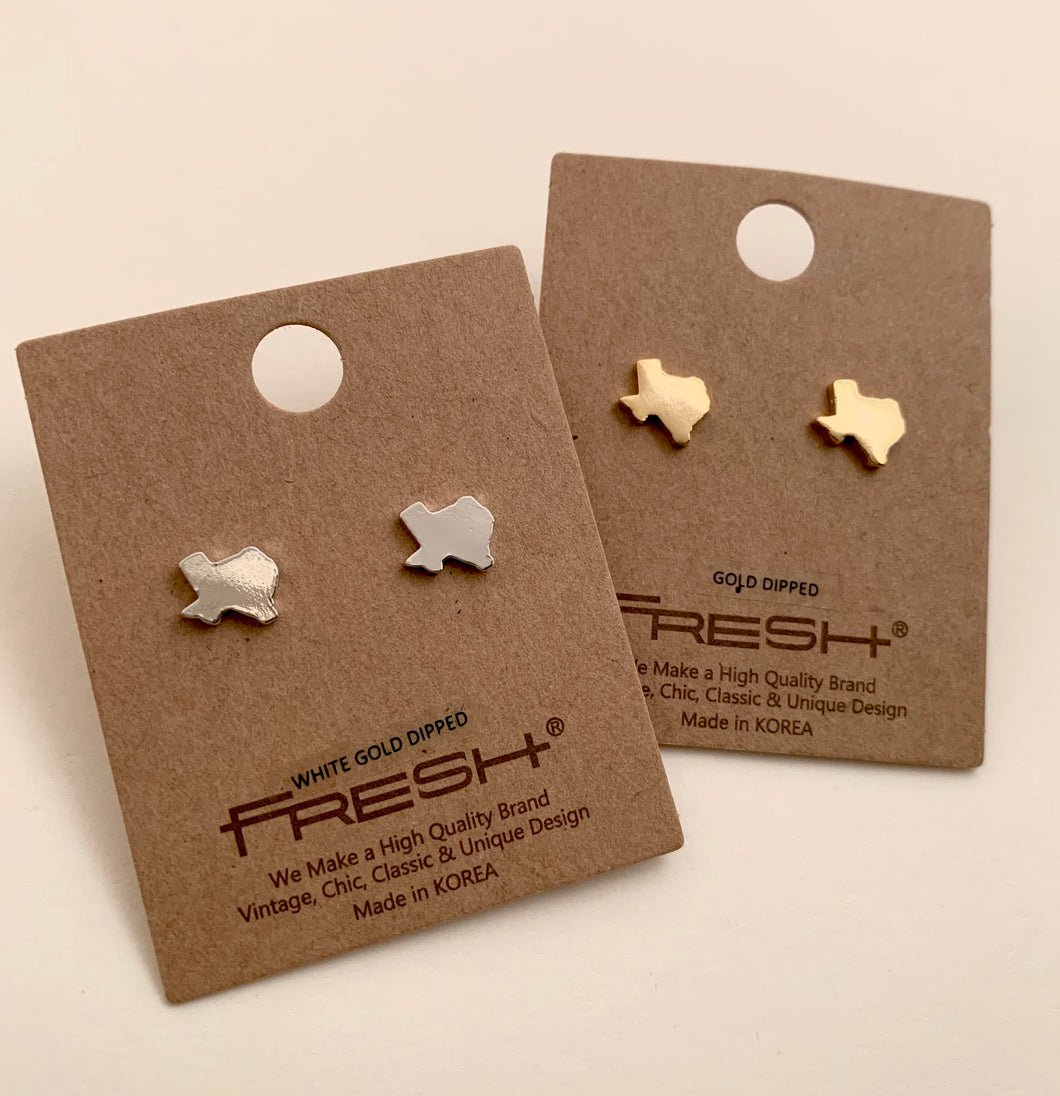 Petite Texas Stud Earrings