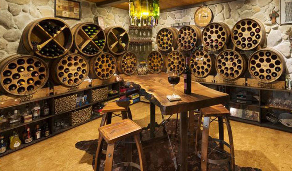 Barrel Rack wine rack