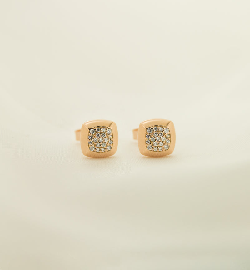 Silver 925 Cubic Zircon Earrings