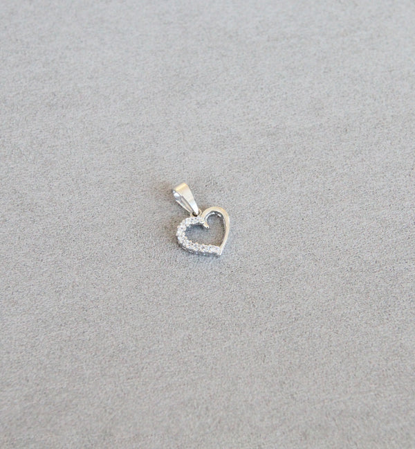 18ct Gold Heart Pendants