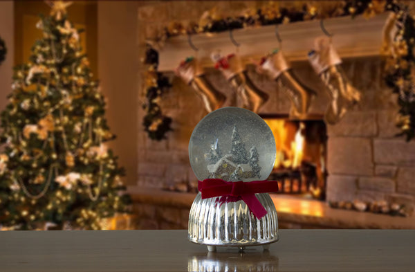 Christmas Musical Snow Globe