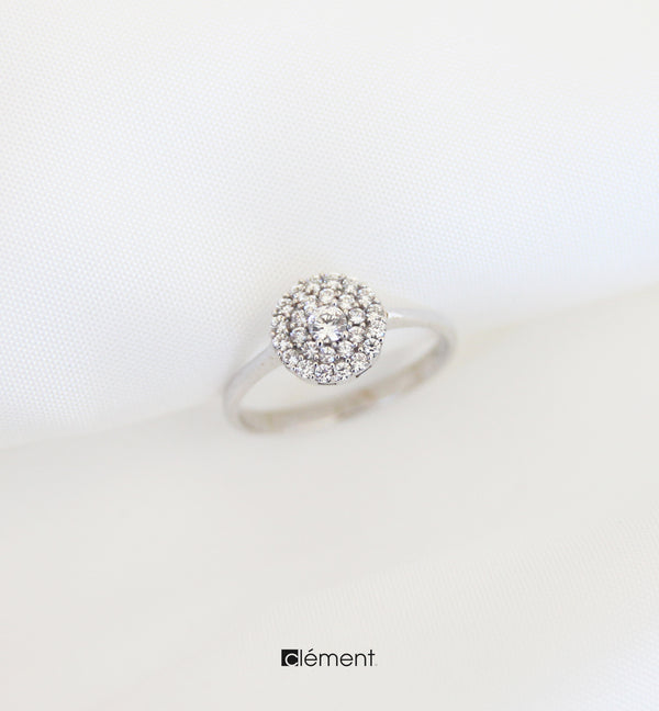 18ct White Gold Ring
