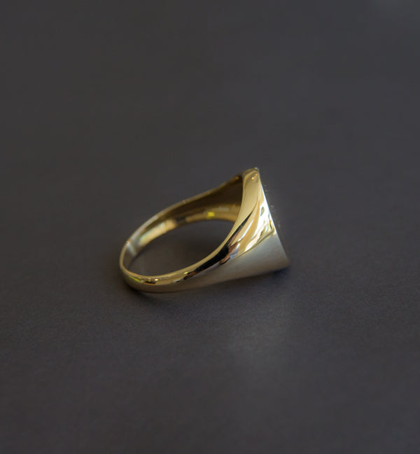 18ct Yellow Gold Signet Ring