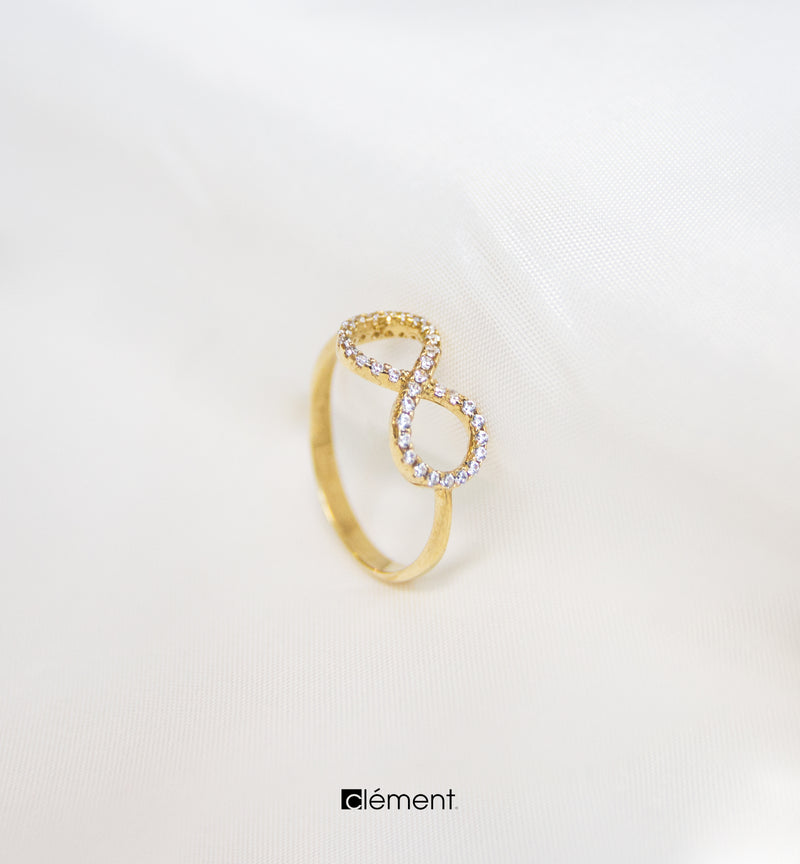 18ct Gold Infinity Ring