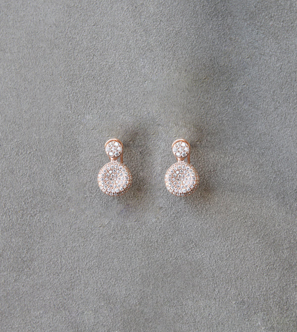 Silver 925 Earrings with Zirconia Stones
