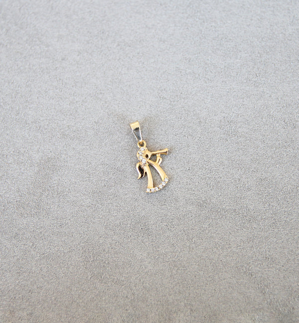 18ct Gold Angel Pendant