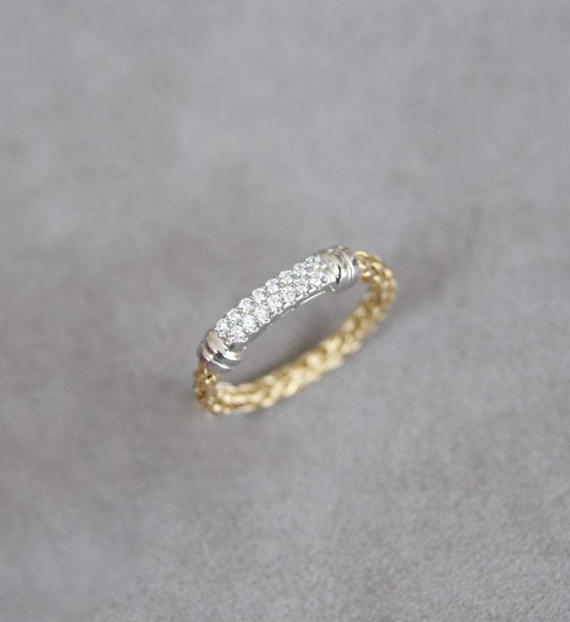 Silver 925 Gold Plated Ring