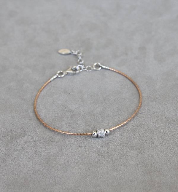 Silver 925 Bracelet with Cubic Zirconia