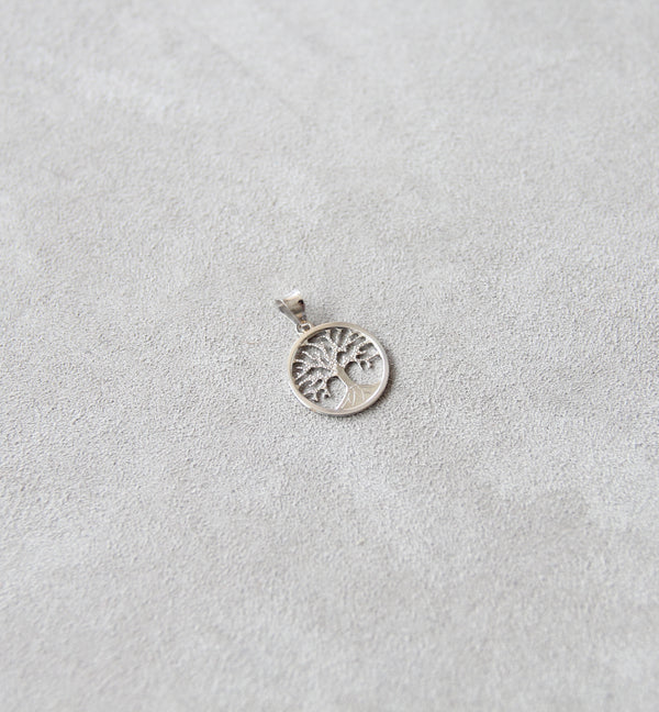 18ct White Gold Tree of Life Pendant