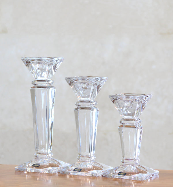 Bohemia Empery Candle Holders