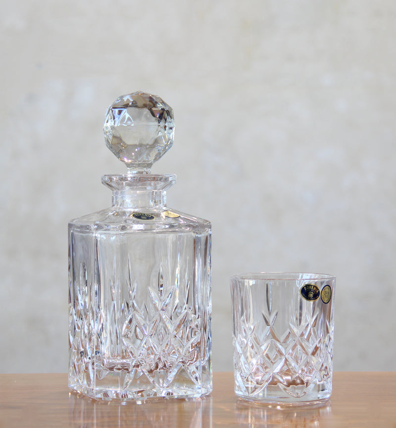 Bohemia Brixton Decanter and Glasses