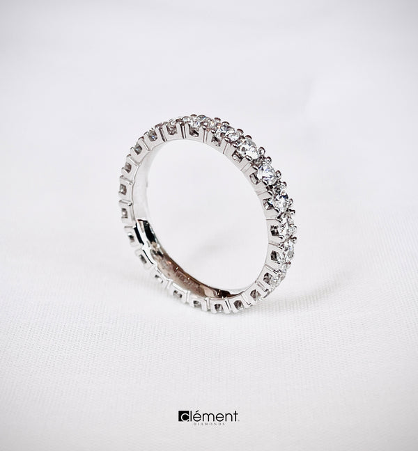 18ct White Gold Dimaond Eternity Ring