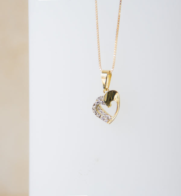 18ct Yellow Gold Heart Pendant