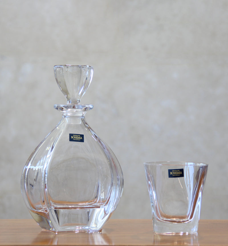Bohemia Laguna Whisky Decanter