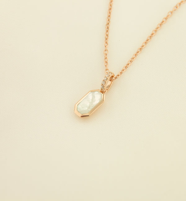Silver 925 Mother of Pearl Pendant