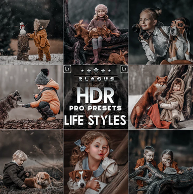 PRO HDR Lightroom Presets ( Mobile & Desktop )