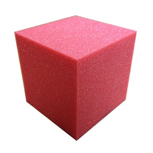 "16 PIECE 6"" inch GYMNASTIC PIT FOAM CUBES/BLOCKS"