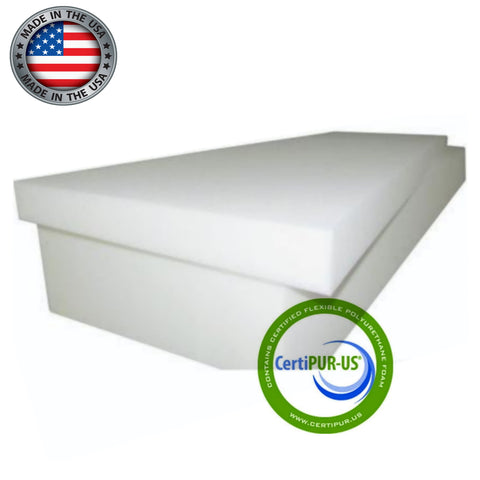 Semi Firm Foam Rubber Twin Size Mattress in the 1.6 pound 36 ILD