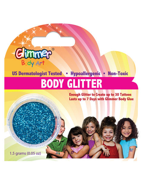 Turquoise Body Glitter