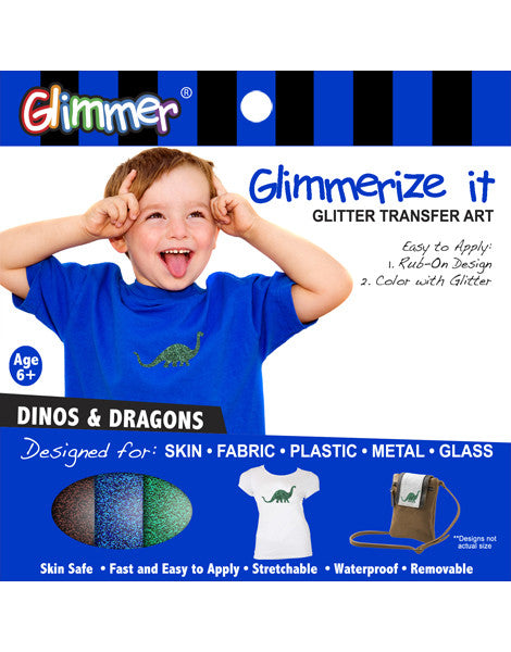Dinos & Dragons Glimmerize It